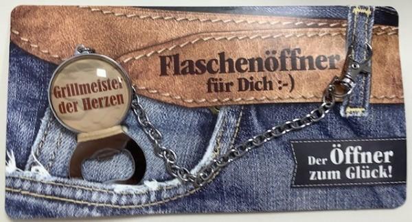 Flaschenöffner - Grillmeister des Herzerns