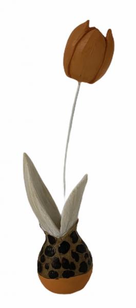 Tulpe, klein, orange