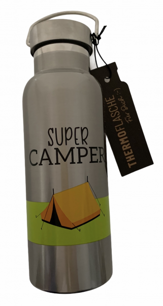 Thermoflasche - Super Camper