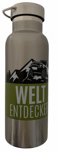 Thermoflasche - Weltentdecker