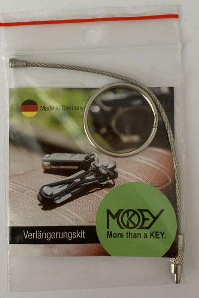 Schlüsselring Drahtseil mit Schlüsselring
