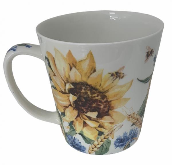 Becher-Sonnenblumen